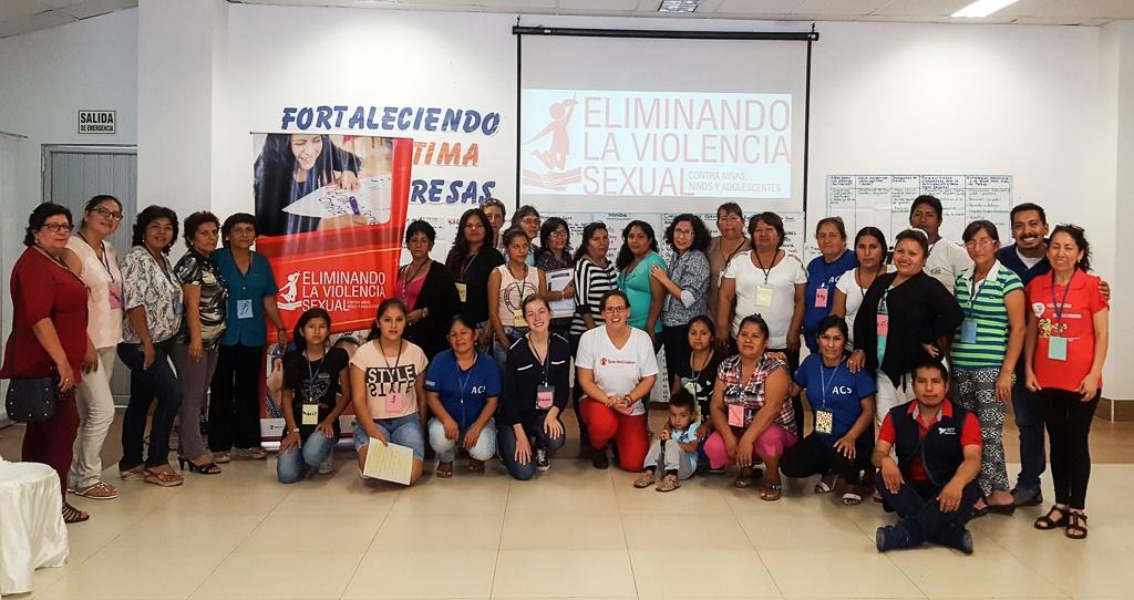 Formación de Mujeres Organizadas en Leoncio Prado