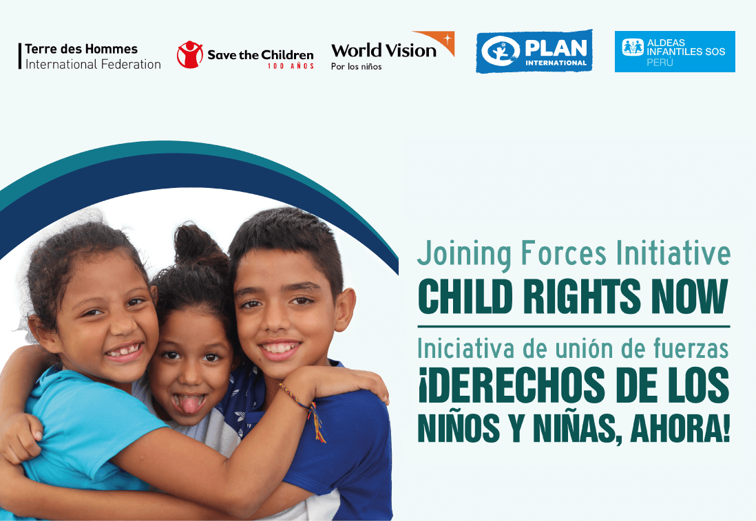 Iniciativa de unión de fuerzas por los derechos de los NNA