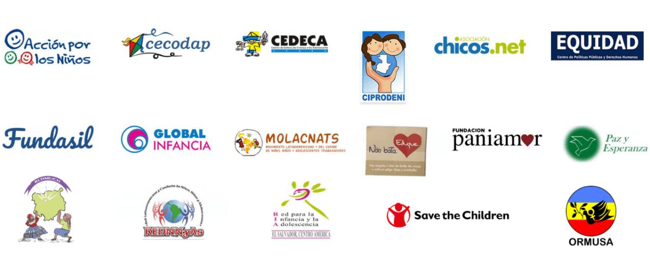 Logos de organizaciones integrantes del PASC